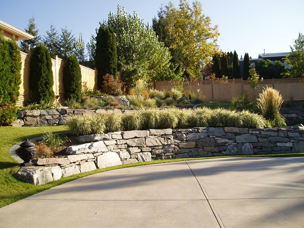 Recently completed projects appellation designs custom for Landscaping rocks kelowna